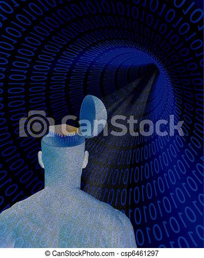 technology human - csp6461297
