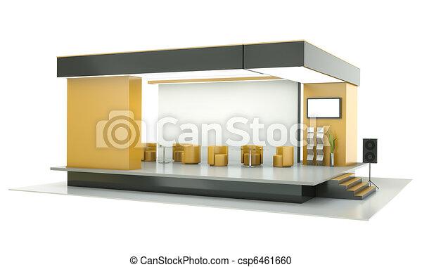 Exhibition stand - csp6461660