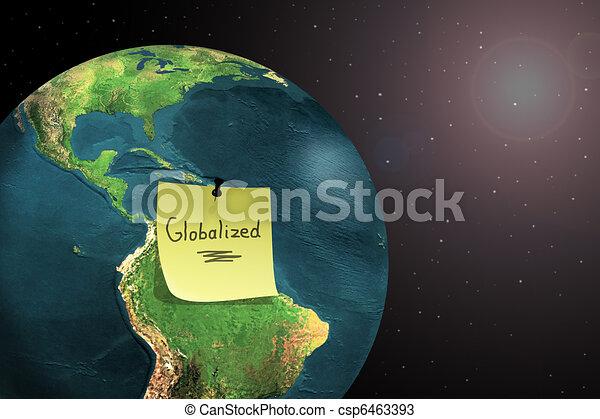 world globalization - csp6463393