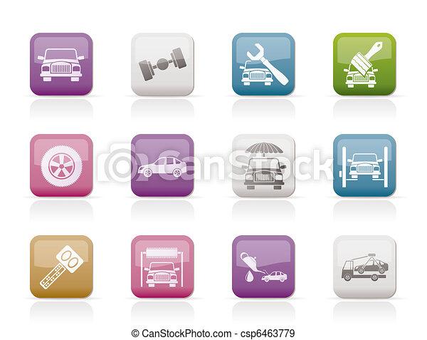 auto service and transportation - csp6463779