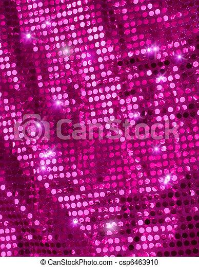 Pink disco glitter - csp6463910
