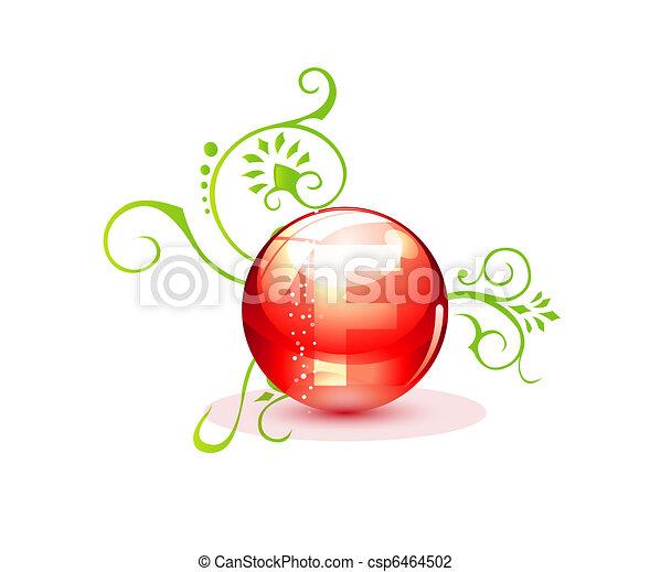 decorative medic red pill sign - csp6464502