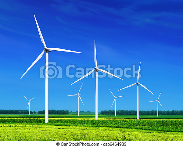 Wind turbines - csp6464933