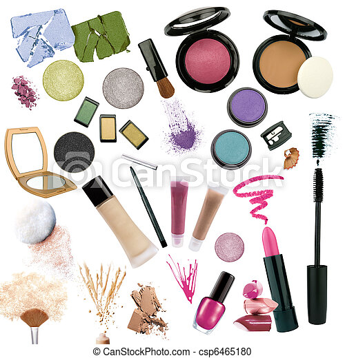 Various cosmetics  - csp6465180