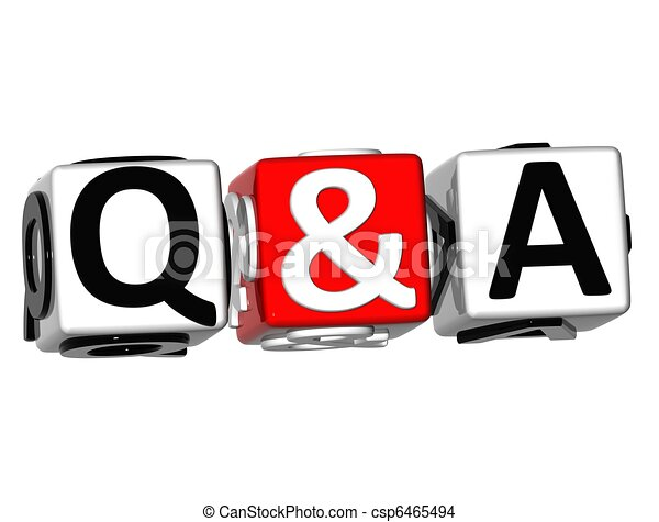 3D Question & Answer - csp6465494