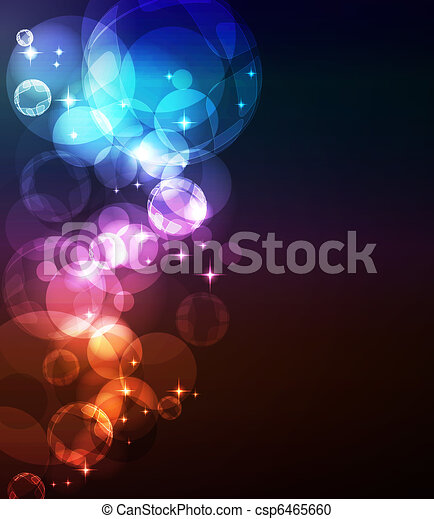 Abstract glowing background - csp6465660