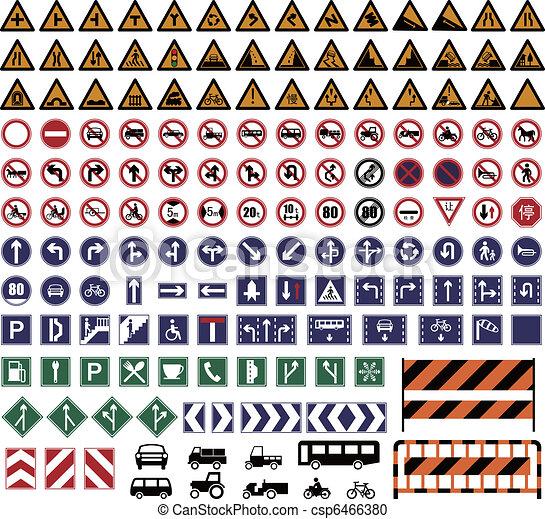 Traffic Sign - csp6466380