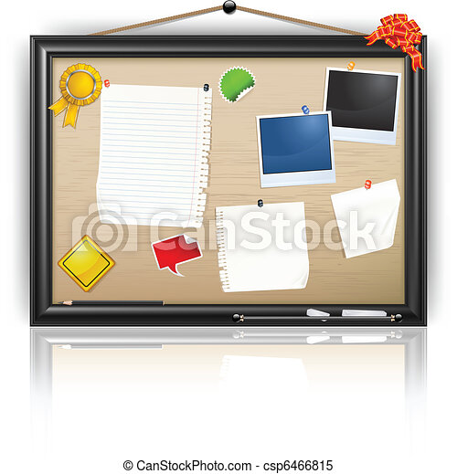 Notice board - csp6466815