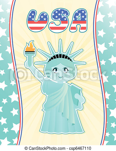 statue of liberty - csp6467110