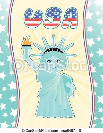 statue of liberty - csp6467110