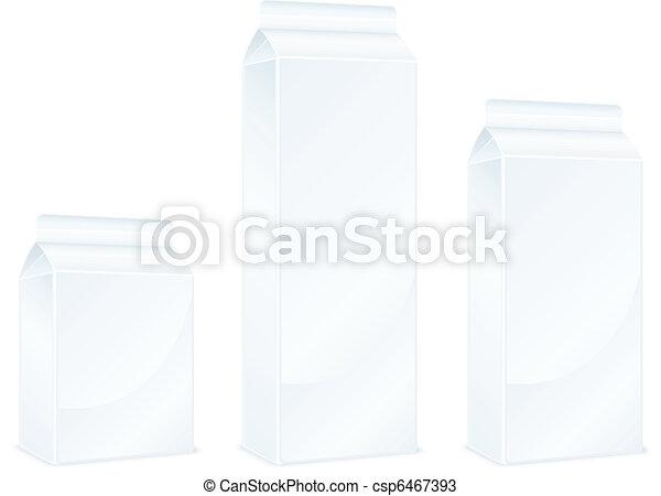 Milk packages - csp6467393