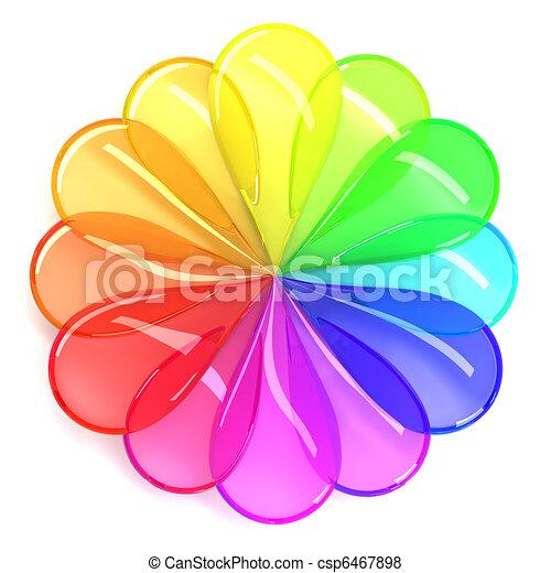 Color wheel - csp6467898