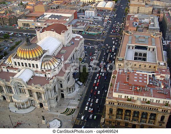 Mexico City - csp6469524