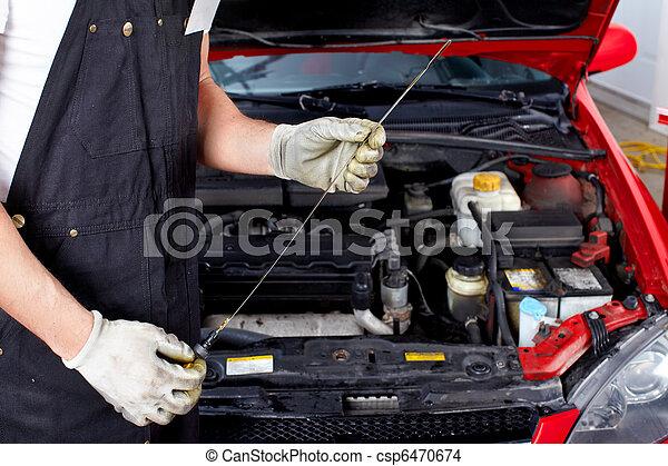 Auto service - csp6470674