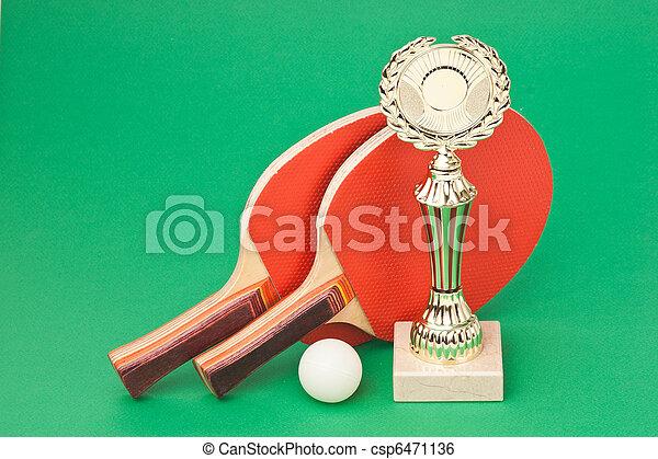 winning tennis tournaments - csp6471136