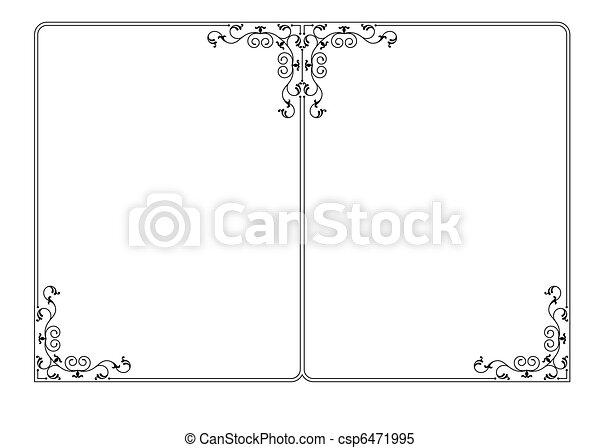 Border, Frame Design - csp6471995
