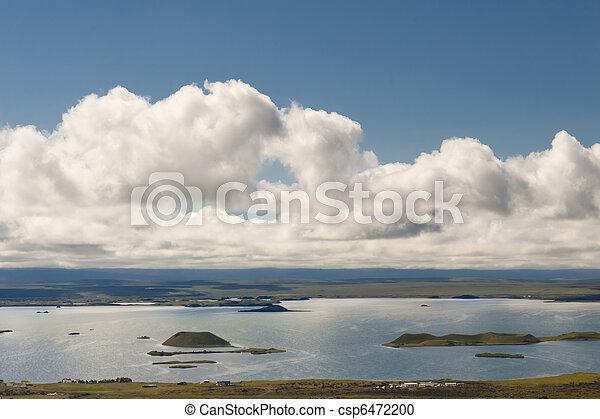 Myvatn landscape - Iceland. - csp6472200