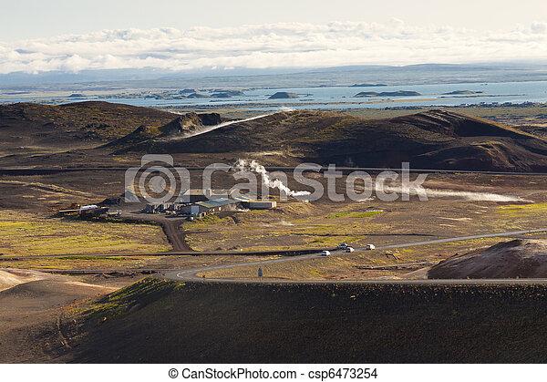 Myvatn area landscape - Iceland. - csp6473254
