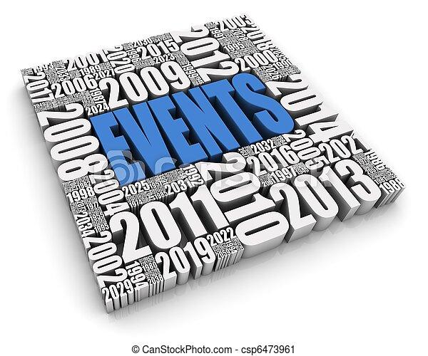 Annual Events - csp6473961