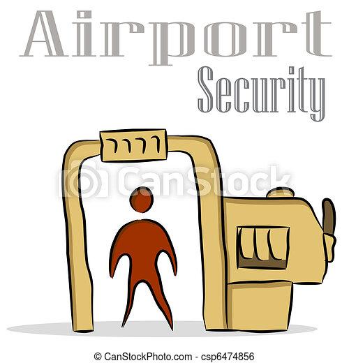 Airport Security - csp6474856
