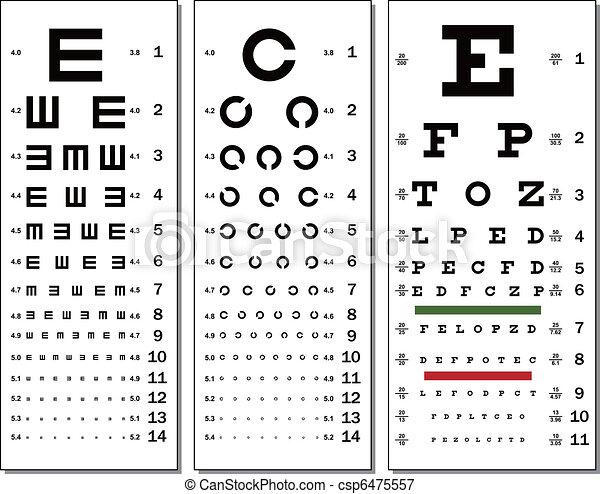Eye Chart - csp6475557