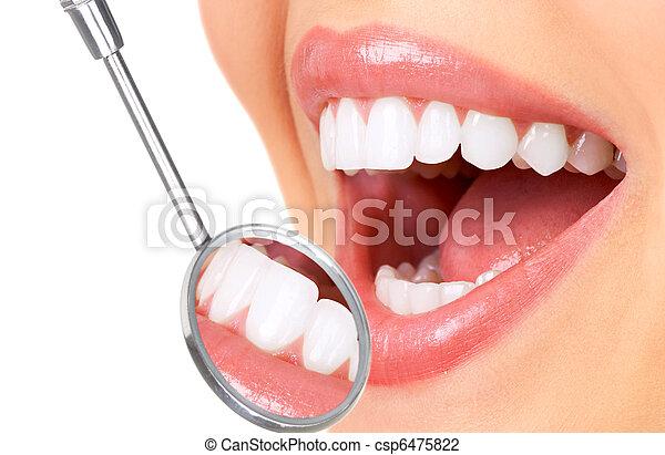 牙齒 - csp6475822