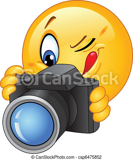 Camera emoticon - csp6475852