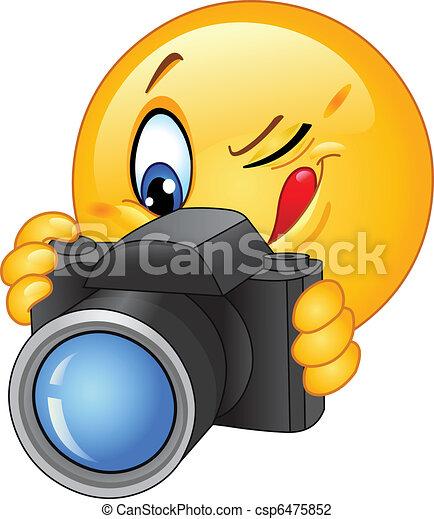 Camera emoticon - csp6475852