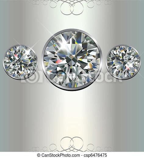 Luxury background  - csp6476475