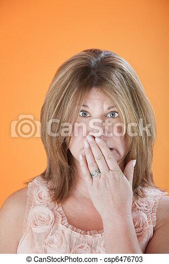 Worried Woman - csp6476703