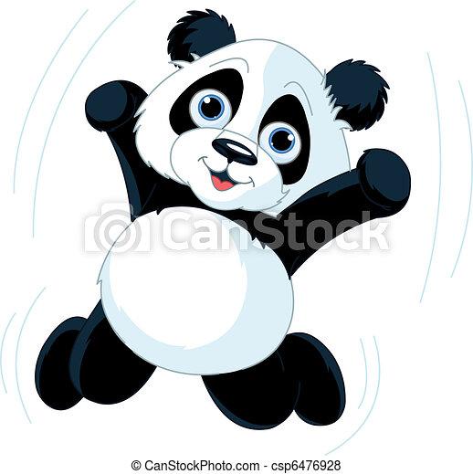 Happy Panda - csp6476928