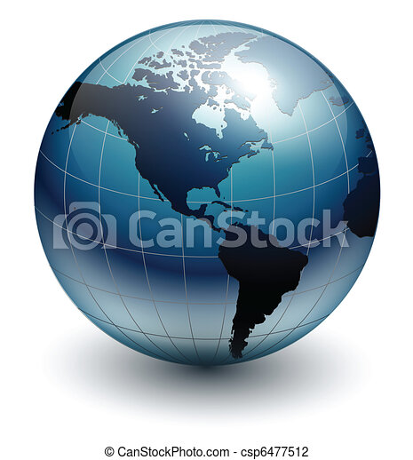 Earth globe - csp6477512