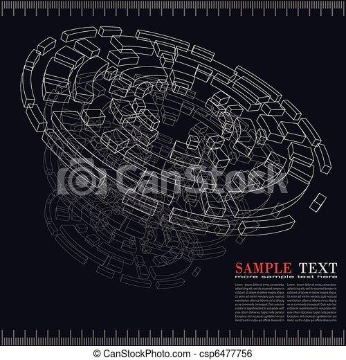 Technology background - csp6477756