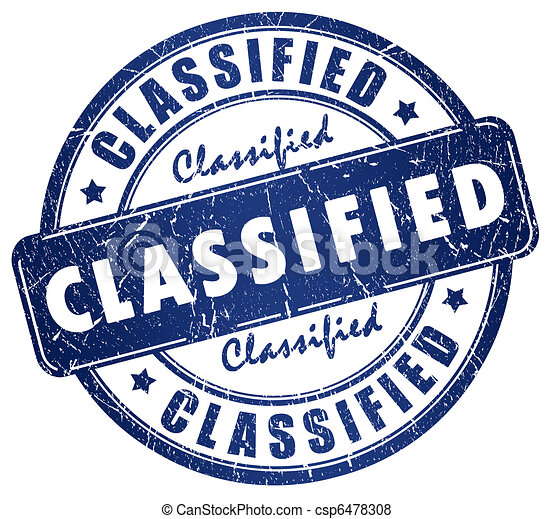 Classified stamp - csp6478308