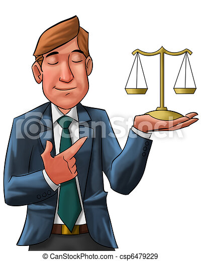 the lawyer - csp6479229