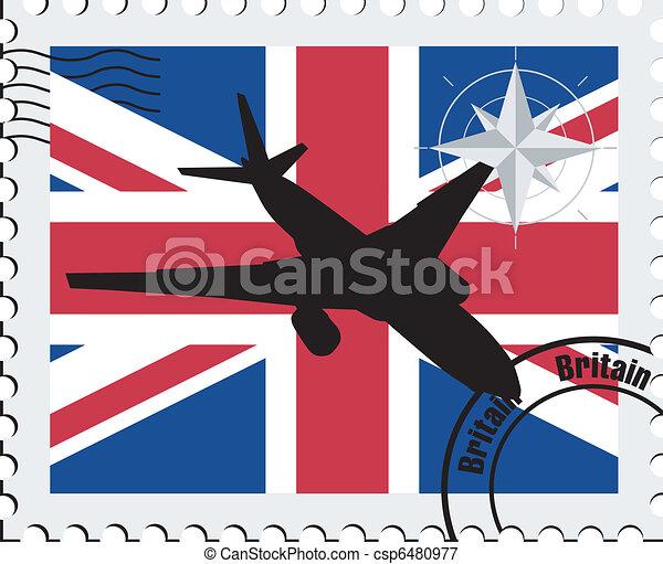air travel in Britain - csp6480977
