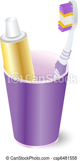 toothbrush - csp6481558