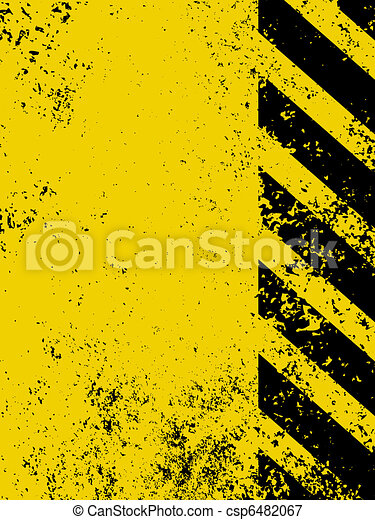 Diagonal hazard stripes texture. EPS 8 - csp6482067