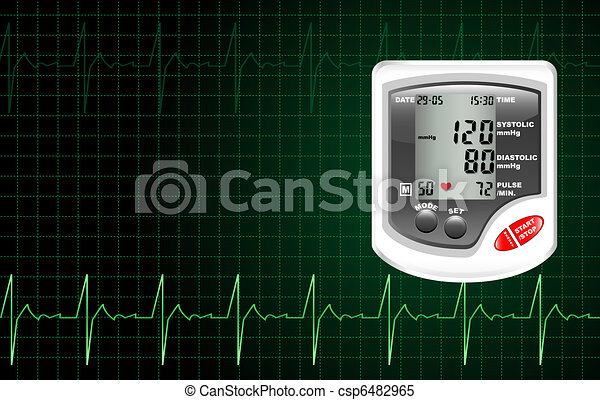 Blood pressure monitor - csp6482965