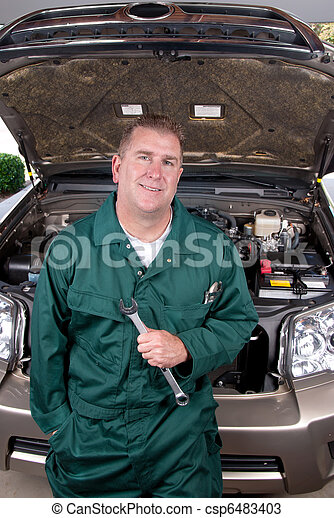 Auto mechanic - csp6483403