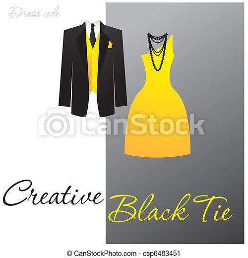 creative-black-tie - csp6483451