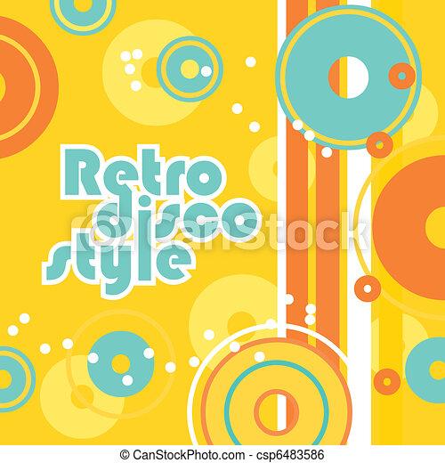 retro-disco-style - csp6483586