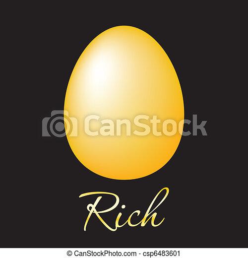 rich-golden-egg - csp6483601