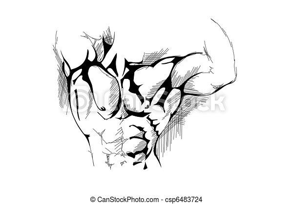 Strong man - csp6483724