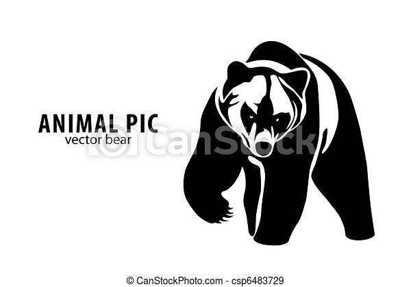 vector Bear - csp6483729