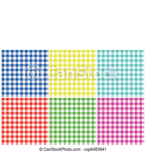 Plaid Patterns - csp6483941