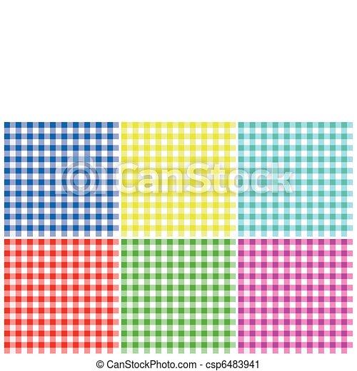 Plaid Patterns - csp6483941