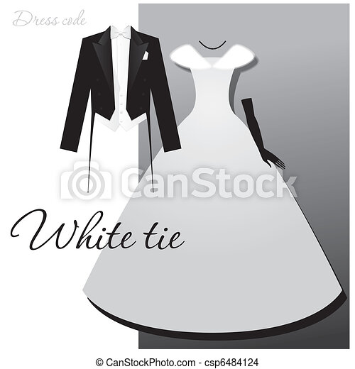 white-tie - csp6484124