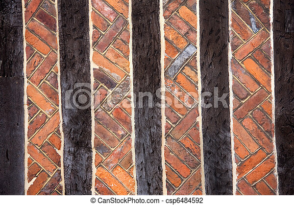 Bricks & beams - csp6484592