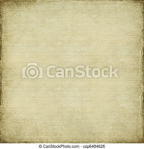Antique paper and bamboo woven background  - csp6484626